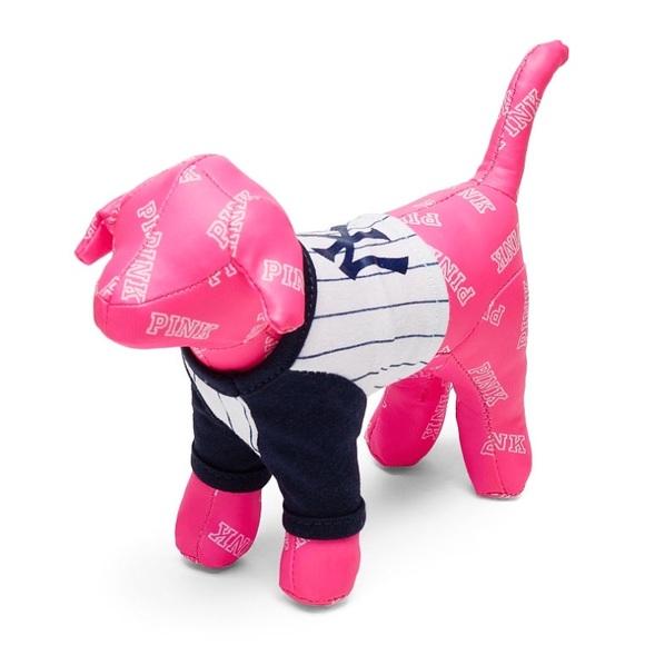 53418825b3 NWT MLB PINK NY Yankees Mini Dog - 2018